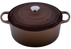 Le Creuset 9Qt Signature Round Oven Truffle