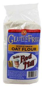 Bob's Red Mill Whole Grain Oat Flour 22 oz