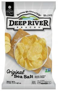 Deep River Original Sea Salt Kettle Cooked Potato Chips 5 oz