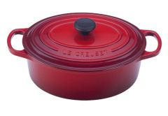 Le Creuset 3.5qt Signature Oval French Oven Cherry
