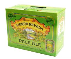 Sierra Nevada Pale / 12-pack cans