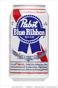 Pabst Blue Ribbon / 30-pack cans