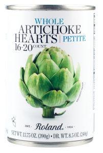 Roland Artichoke Hearts Petite 13.75oz