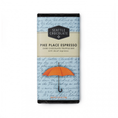 Seattle Chocolate Pike Place Espresso Dark Chocolate Bar