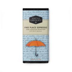 Seattle Chocolate Pike Place Espresso Dark Chocolate Bar