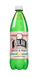 Polar Half & Half Grapefruit & Lemon Soda 1 L.
