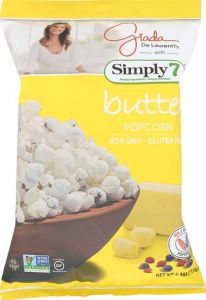 Simply 7 Butter Popcorn - 4.4 oz Bag