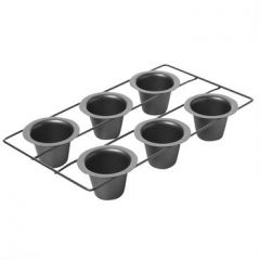 Chicago Metallic Professional Nonstick 6 Cup Popover Pan
