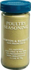 Morton & Bassett Poultry Seasoning