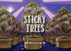 Pressure Drop Sticky Trees IPA / 4-pack cans