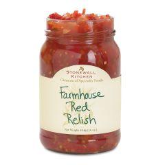 Stonewall Kitchen Farmhouse Red Relish 16 oz