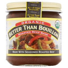 Better Than Bouillon Roasted Beef Base 8 oz Jar