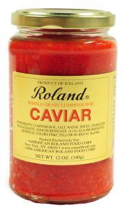 Roland Red Lumpfish Caviar 12 OZ