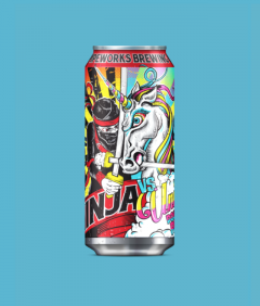 Pipeworks Brewing Company Ninja vs. Unicorn / 4-pack cans