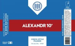 Schilling Beer Co. Alexandr 10˚ / 4-pack cans