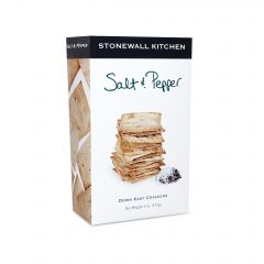 Stonewall Kitchen Salt & Pepper Crackers 5 oz