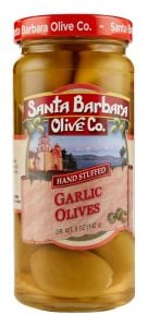 Santa Barbara Olive Co. Garlic Stuffed Olives