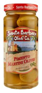 Santa Barbara Pimento Martini Olives - 5 oz Jar