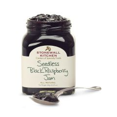 Stonewall Kitchen Seedless Black Raspberry Jam 12 OZ