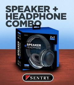 Sentry Speaker And Headphone