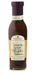 Stonewall Kitchen Sesame Ginger Teriyaki Sauce 11 oz