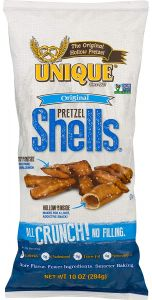 Unique Original Pretzel Shells 11 OZ