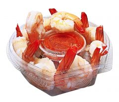 10-Count Large (21-25ct) Shrimp Cocktail with Sauce (Fully Cooked)