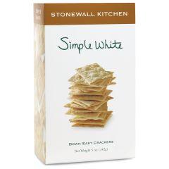 Stonewall Kitchen Simple White Crackers 5 oz