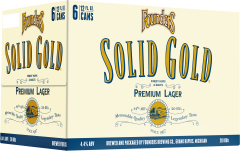 Founders Solid Gold / 6-pack of 12 oz. cans