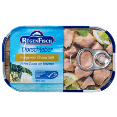 Rugenfish Cod Livers -4.27 oz Can