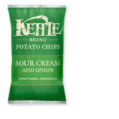 Kettle Sour Cream And Onion Potato Chips 5 OZ