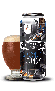 Ellicottville Brewing Company Platter's Sponge Candy Ale / 4-pack cans