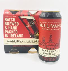 Sullivan's Red Ale - 4 Pack of 14.9 oz Cans
