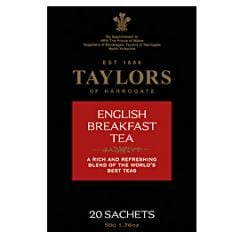 Taylors Of Harrogate English Breakfast Tea, 20 Count Bags