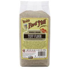 Bob's Red Mill Whole Grain Teff Flour 24 oz Bag
