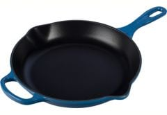 "Le Creuset 10.25"" Signature Iron Handle Skillet Marseille"