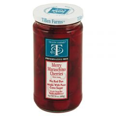Tillen Farms Merry Maraschino Cherries 14 oz