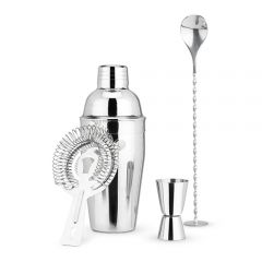 True Stainless Steel Barware Set