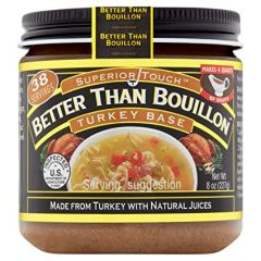 Better Than Bouillon Turkey Base 8 oz Jar