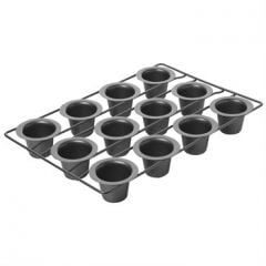 Chicago Metallic Professional Nonstick 12 Cup Mini Popover Pan