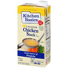 Kitchen Basics Unsalted Chicken Stock 32 oz