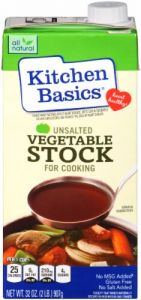 Kitchen Basics Unsalted Vegetable Stock 32 oz