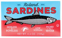 Roland Skinless & Boneless Sardines in Water