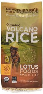 Lotus Organic Volcano Rice 15 oz Bag