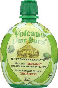 Volcano Lime Burst - 6.7 oz Squeeze Bottle
