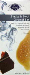 Vosges Smoke & Stout Caramel Exotic Chocolate Bar 3 OZ