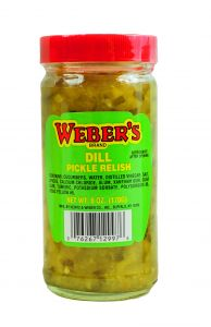 Webers Dill Pickle Relish 6 OZ