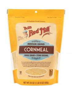 Bob's Red Mill Medium Grind Cornmeal 24 oz Bag