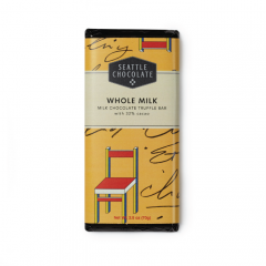 Seattle Chocolate Whole Milk Chocolate Truffle Bar