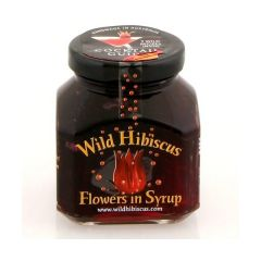 Wild Hibiscus Flowers in Syrup 8.8 oz